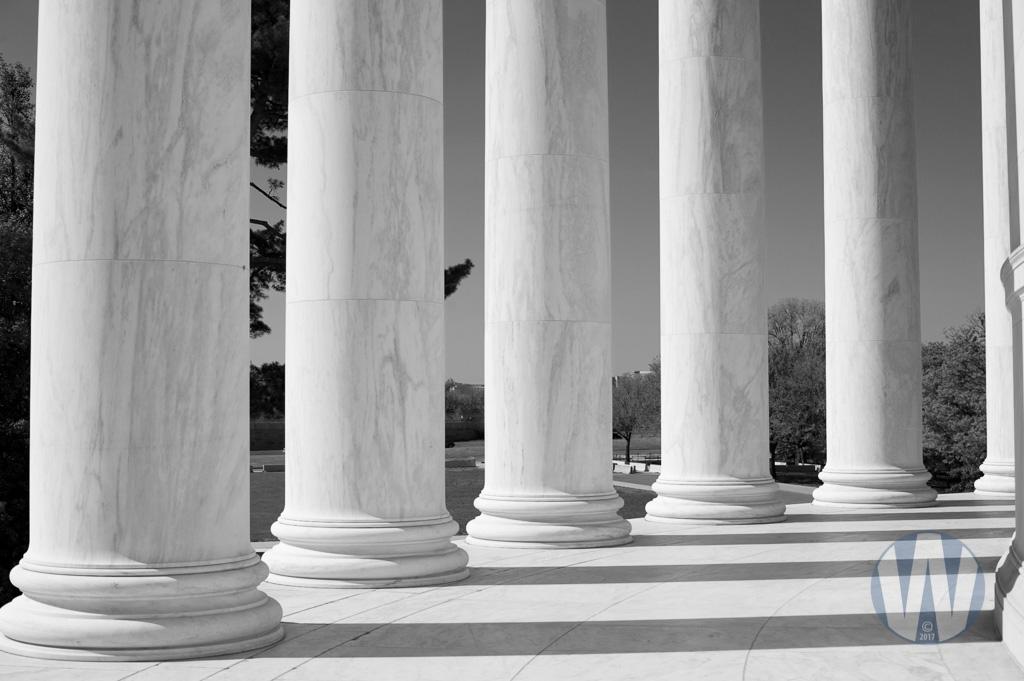 Jefferson Memorial Columns